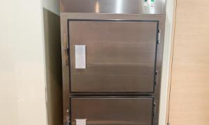 冷蔵安置室保有