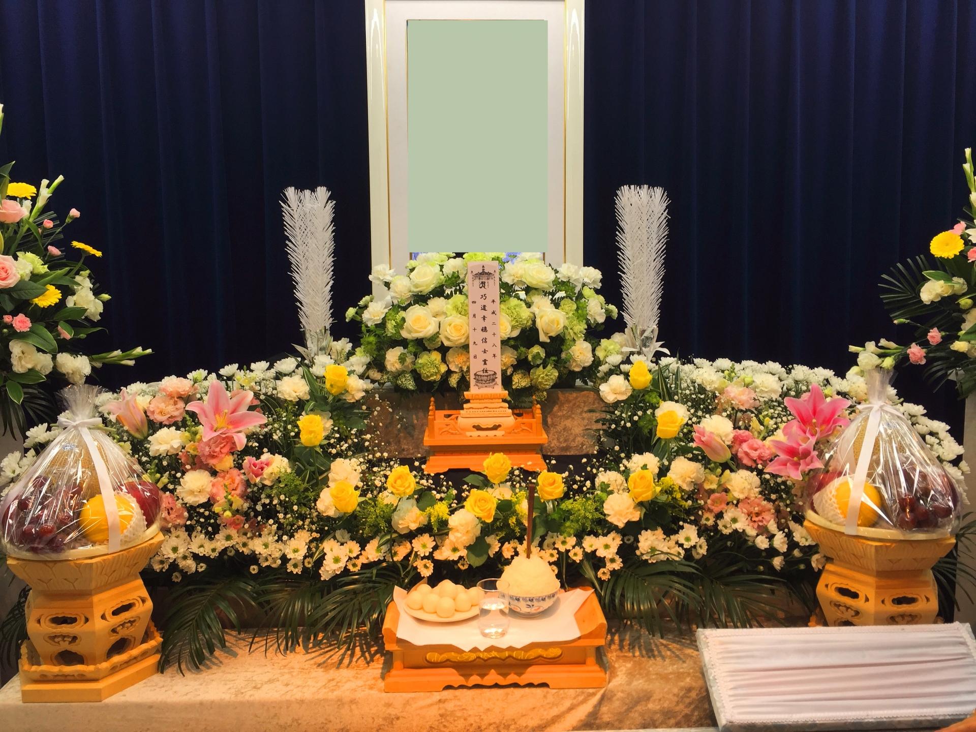 葬儀の供え物