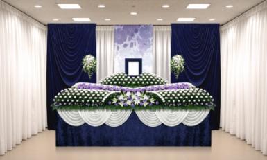お客様が希望されているイメージを経験豊富な担当者がイメージしておつくりします。<br /> <br /> 例えば、お客様のご予算に合わせた花祭壇をご提案いたします。<br /> また、使用する会場の広さによっても祭壇のサイズや花のボリュームが変わってきますので、<br /> 過去の事例に基づきよくご利用される祭壇のサイズ等のご紹介もいたします。